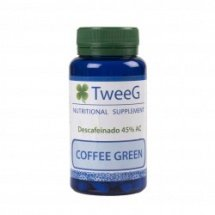 COFFEE GREEN (Café verde 400mg sin cafeína) 60 caps TWEEG
